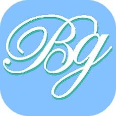 ブライトグループのアプリアイコン風ロゴ