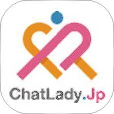 Chatlady.jpのアプリアイコン風ロゴ