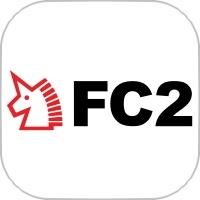 FC2のアプリアイコン風のロゴ