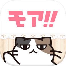 モアのアプリアイコン風のロゴ