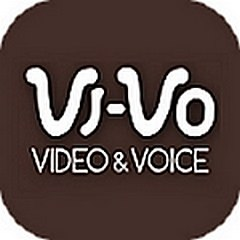 VI-VOのアプリアイコン風ロゴ
